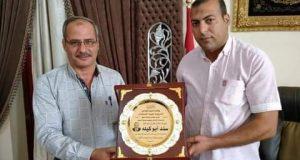 تكريم مستحق لنائب رئيس مدينة دسوق لشئون القرى