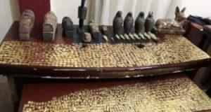 تم ضبط شقيقين فى الفيوم بحوزتهم 13تمثالا أثريا من العثور الفرعونية والرومانية | تم ضبط شقيقين فى الفيوم بحوزتهم 13تمثالا أثريا من العثور الفرعونية والرومانية