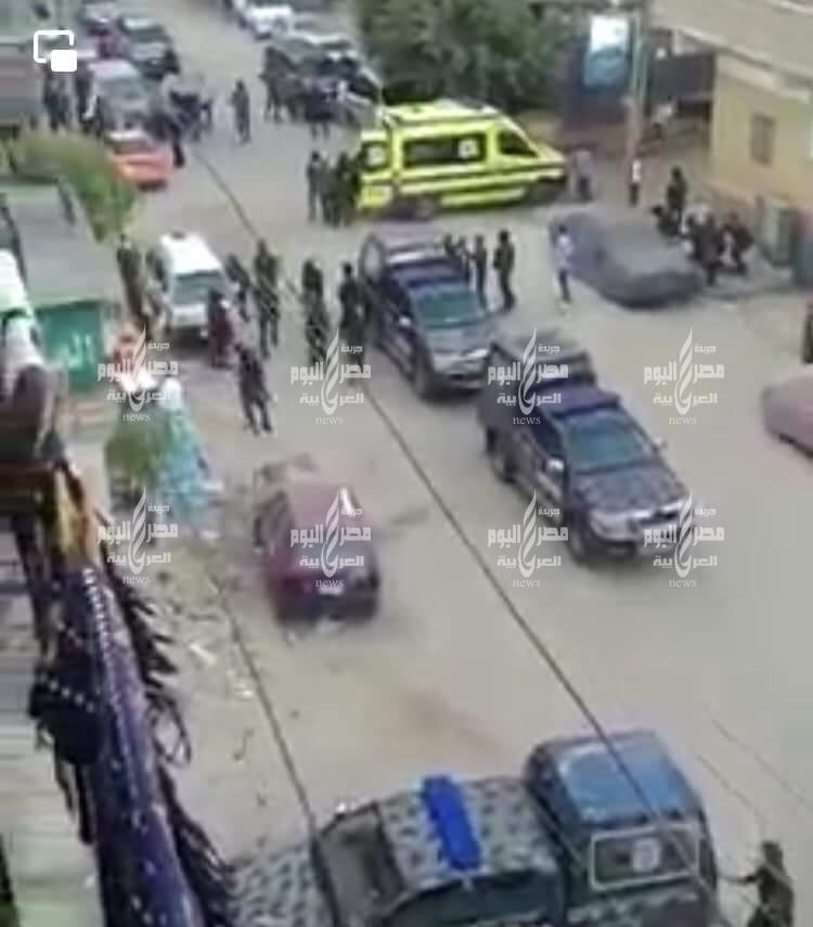عاجل تبادل إطلاق النار مع مجهولين مسلحون بمنطقة حي السلام بالاسماعيلية
