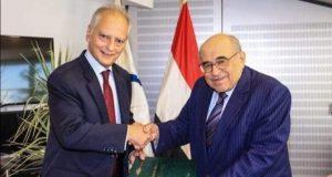 مدير مكتبة الإسكندرية يستقبل سفير اليونان |