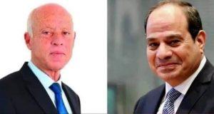 الرئيس السيسي؛ يجرى مساء اليوم اتصالاً هاتفياً مع الرئيس قيس سعيد، رئيس الجمهورية التونسية. |