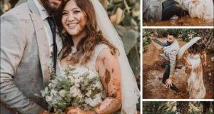 عروسان بالمنوفية : يشعلان السوشيال ميديا باغرب سيشن لزفافهما |
