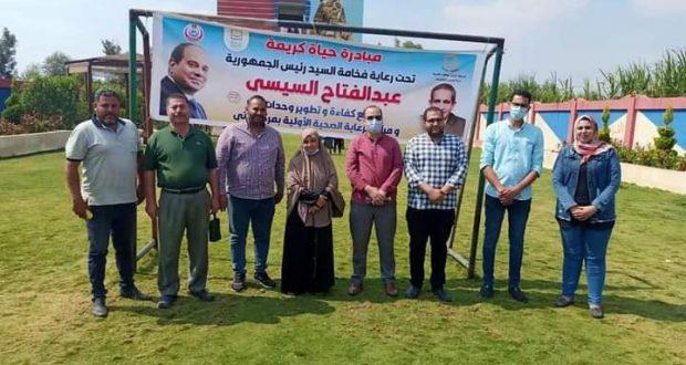 فحص1350 حالة في القافلة التابعة لوزارة الصحة في إحدى قرى زفتي  
