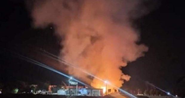 عاجل حريق ضخم بمنطقة نمرة ٣ بالإسماعيلية |
