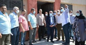 محافظ بورسعيد يؤكد : دهان جميع العمارات السكنية بشارع ٢٣ ديسمبر بلون موحد |