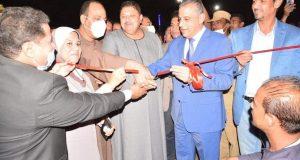 محافظ سوهاج يفتتح طريق كورنيش النيل بالمنشاة بتكلفة 7 مليون جنيه  