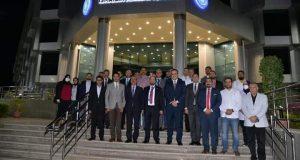 محافظ الاسماعيلية يستقبل وزير الصحة الليبي  