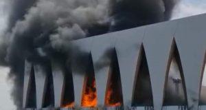 حريق يلتهم منطقة احتفالات مهرجان الجونة السينمائي قبل انطلاقه بيوم |